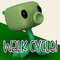 Peashooter Walk Cycle