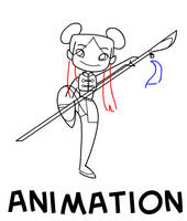 Animation: Chinese Warrior by aimee5