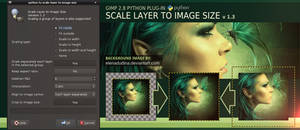 Scale Layer to Image Size