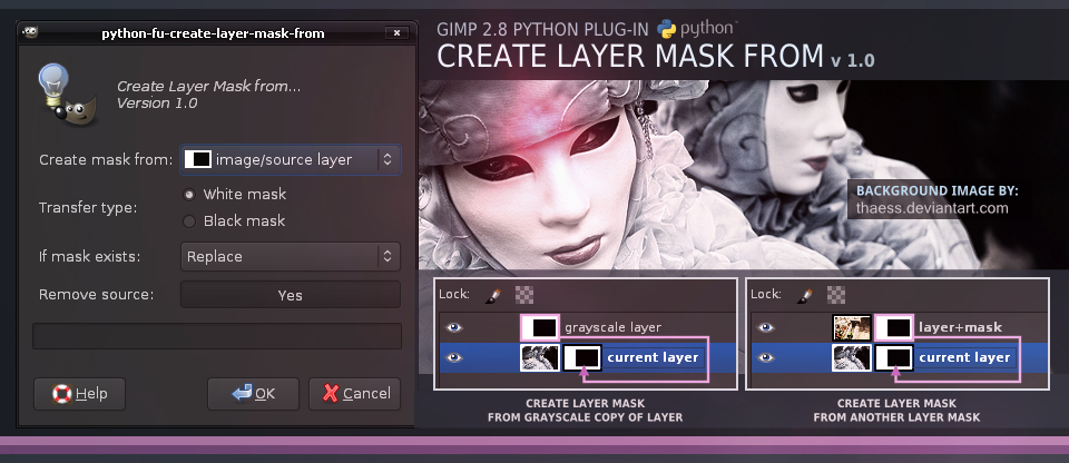 Create Layer Mask from    by slybug on DeviantArt