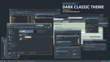 Dark Classic Theme by slybug