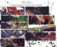 PSD Pack 6 by kakashi0hatake