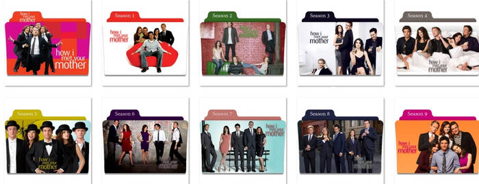 How I Met Your Mother Folder Icons