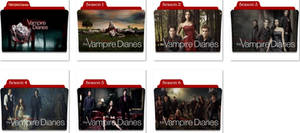The Vampire Diaries Folder Icons