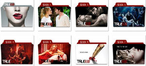 True Blood Folder Icons