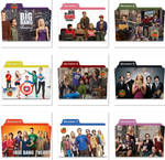 The Big Bang Theory Folder Icons