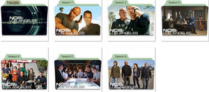 NCIS Los Angeles Folder Icons