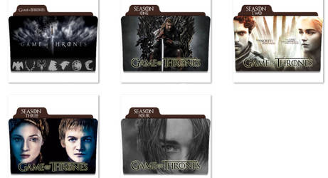 Game Of Thrones Folder Icons