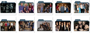 One Tree Hill Folder icons
