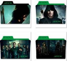 Arrow Folder Icons by nellanel