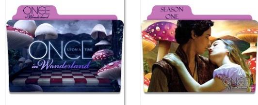 Once Upon A Time IIn Wonderland Folder Icons