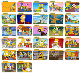 The Simpsons Folder Icons