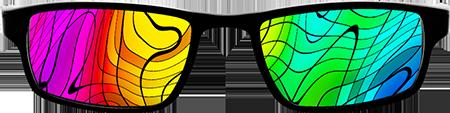 Mad glasses