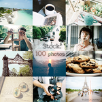 Stock: 100 images.
