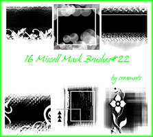 Miscell Mask Brushes No.22 by TaScha1969