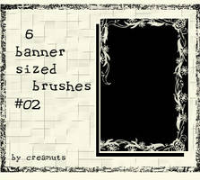 Banner Sized Brushes No.02 by TaScha1969