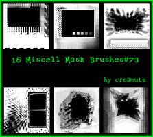 Miscell Mask Brushes No.73 by TaScha1969