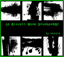 Miscell Mask Brushes No.80 by TaScha1969
