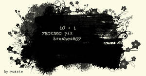 Banner Brushes No.07 by TaScha1969