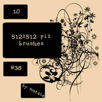 10 Very Big Brushes No.38 by TaScha1969