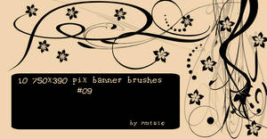 Banner Brushes No.09 by TaScha1969