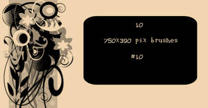 Banner Brushes No.10 by TaScha1969