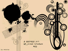 WallPaper Sized Brushes No.02 by TaScha1969