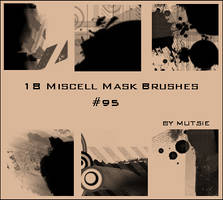 Miscell Mask Brushes No95 by TaScha1969