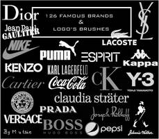 126 Brands_Logo Brushes No.01 by TaScha1969