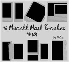 Miscell Mask Brushes No.101 by TaScha1969