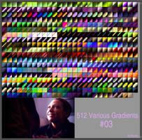 #512 Various GradientsNo3 by TaScha1969