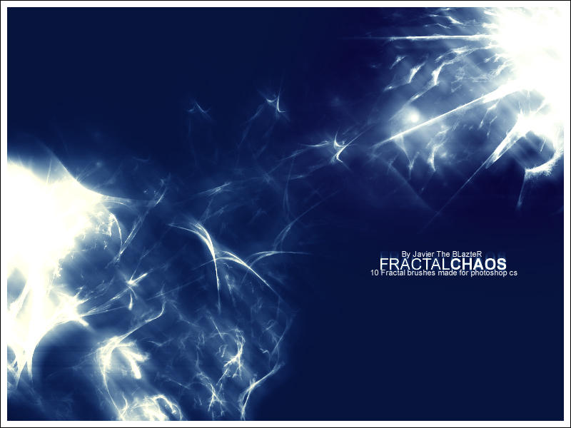 Fractal Chaos by JavierZhX