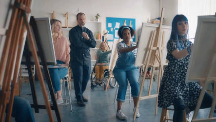 BMO Harris Bank TV Commercial Life Drawing