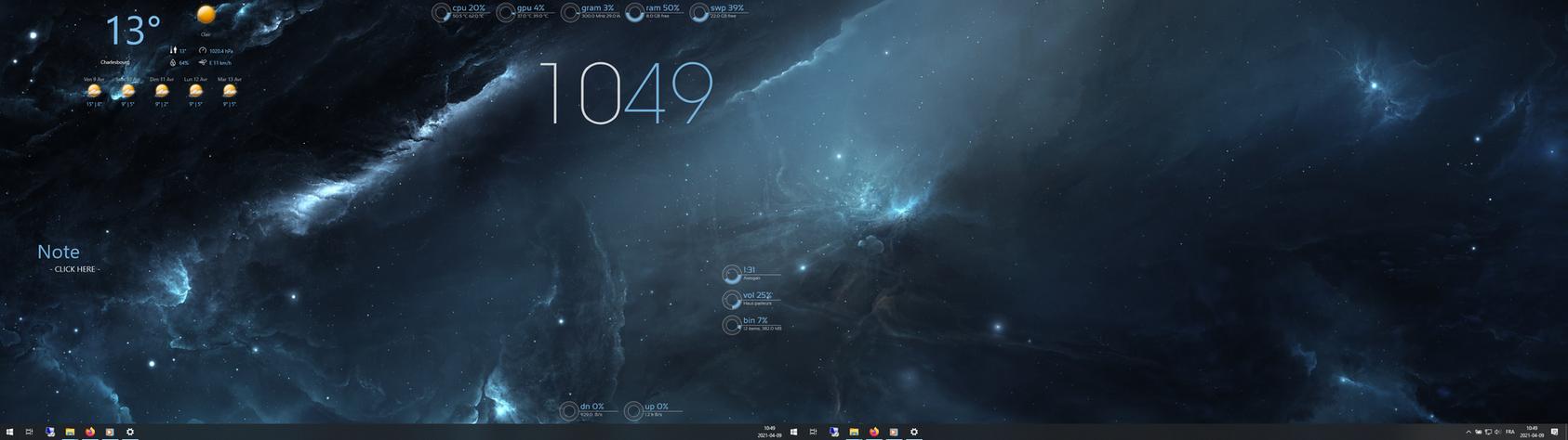 Def blue space HW 1.9 (HWInfo version)
