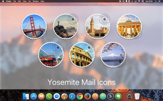macOS Mail icons