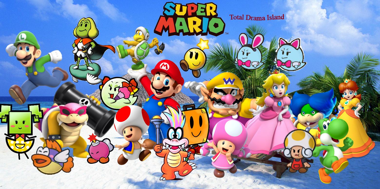 Super Mario Party Island Tour