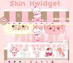 Pink Menu Kawaii By AMJ Vintage