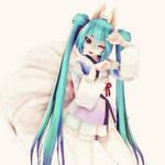 Tda KimonoFox Miku Model DL [80+watchers Thanks]