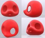 Chibi Headbase 3D Model by Ayu-Jochuu