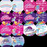 MLP Fursuit Badge Templates by Ayu-Jochuu