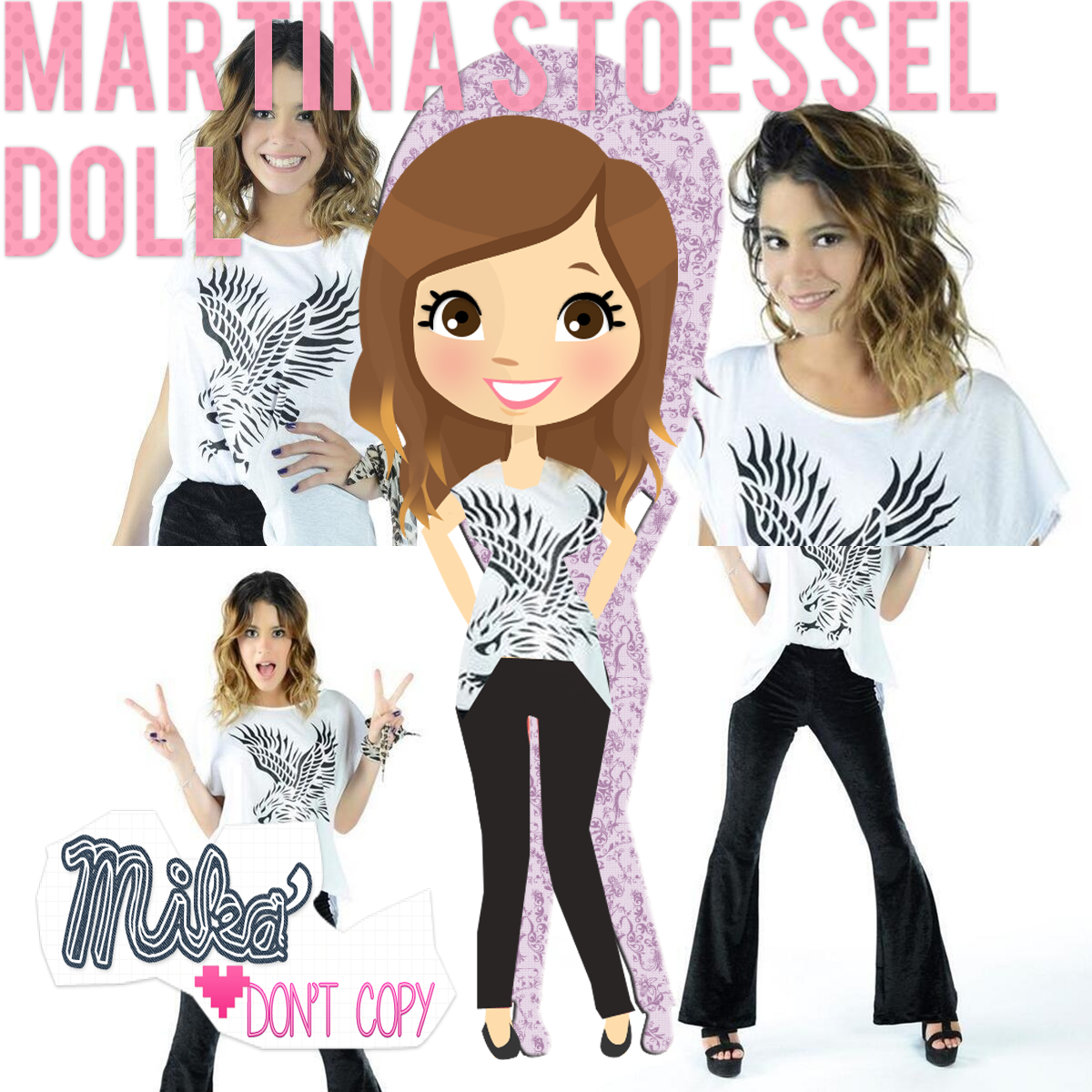 Martina Stoessel Doll by MikaStoessel