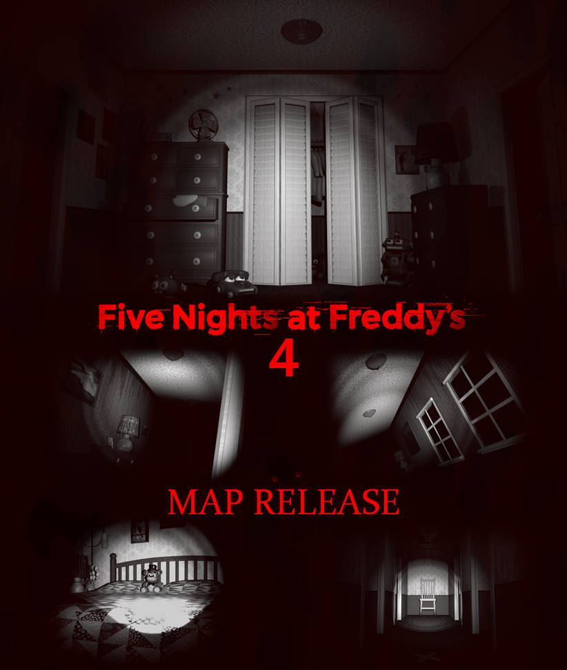 FNaF 4 Map V2 Release [BLENDER EEVEE] by The-64th-Gamer on DeviantArt