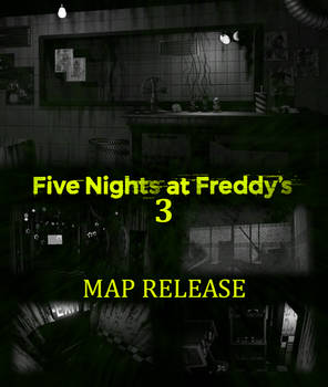 FNaF 3 Map V2 Release [BLENDER EEVEE]