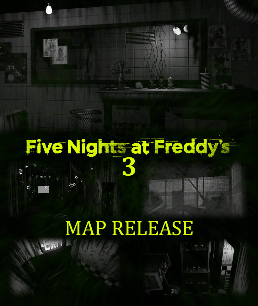 FNaF 3 Map V2 Release [BLENDER EEVEE] by The-64th-Gamer on DeviantArt