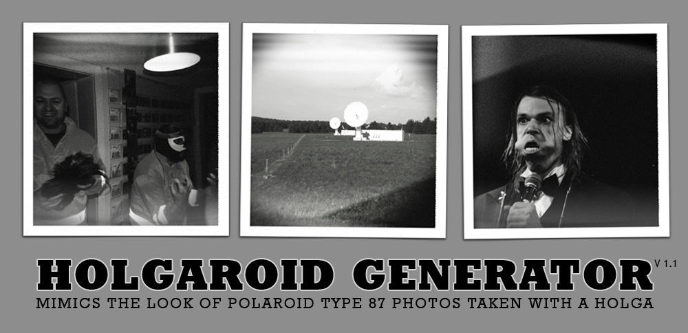 HolgaRoid Generator BW by rawimage