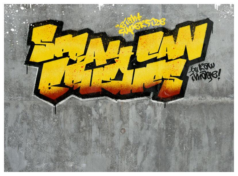 SprayCanArt by rawimage