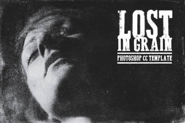 Lost in Grain - PSD Template