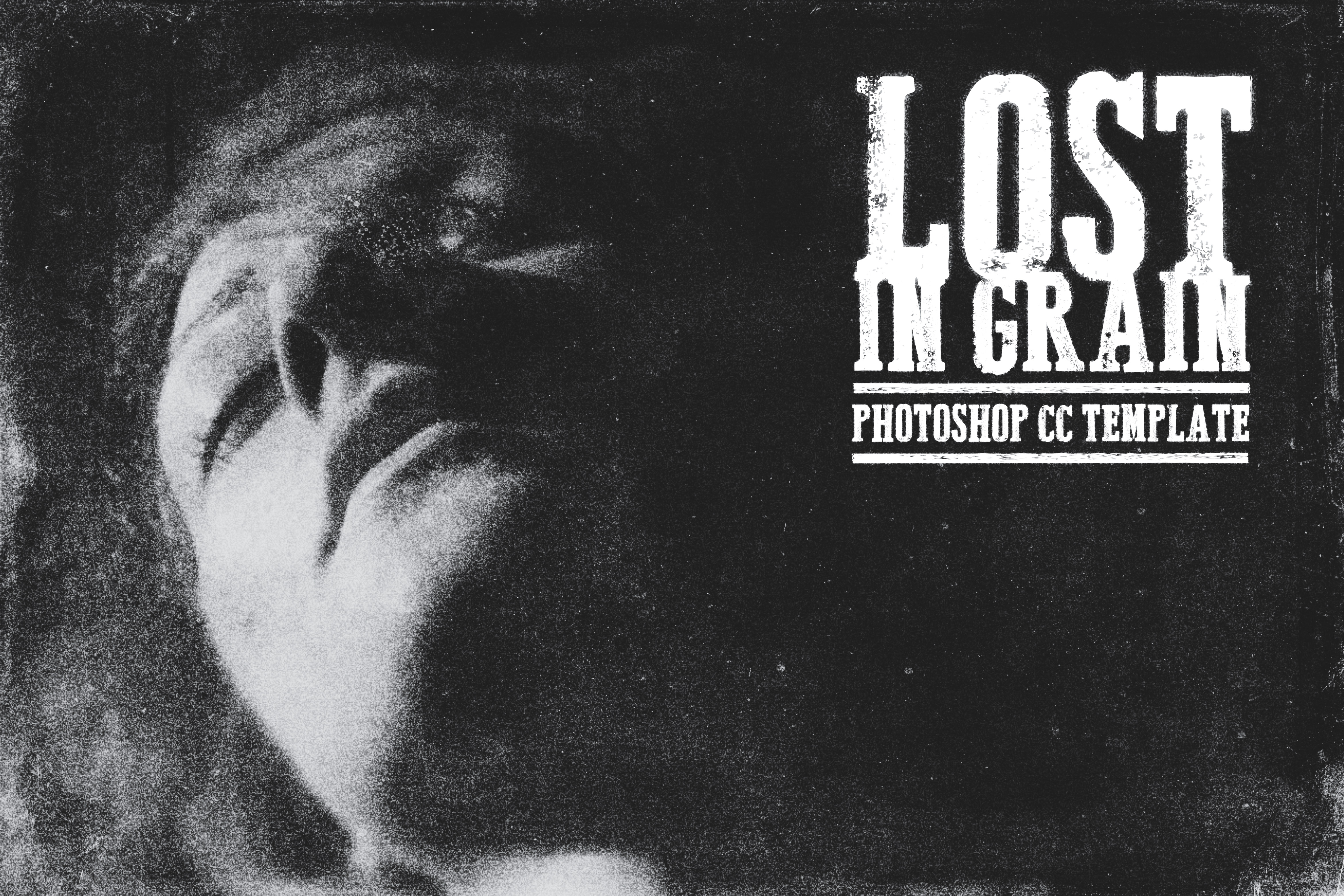 Lost in Grain - PSD Template by rawimage
