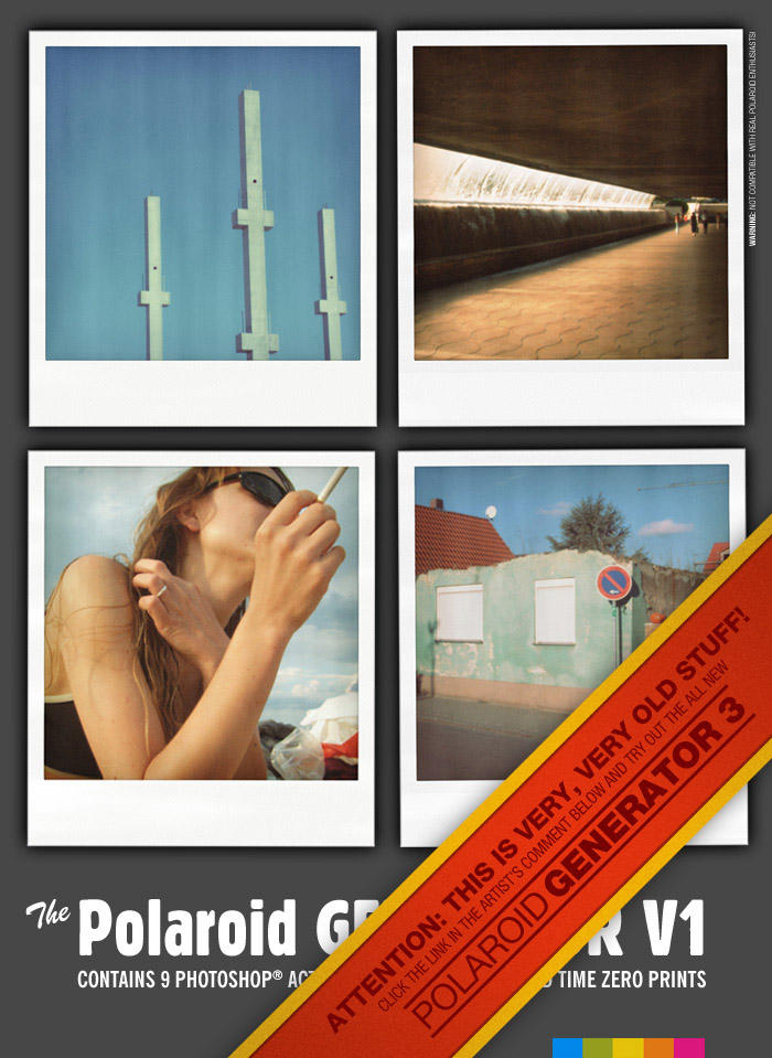 Polaroid GENERATOR V1 by rawimage
