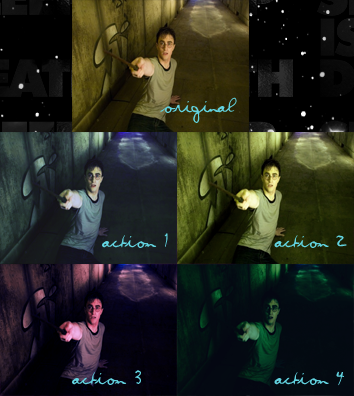 Harry Potter Actions -by Nigma